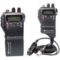 Midland Handheld 40-channel Cb Radio With Weather And All-hazard Monitor & Mobile Adapter-CB Radios-Across The Counter