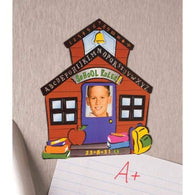 School House Photo Frame-Picture Frames-Across The Counter