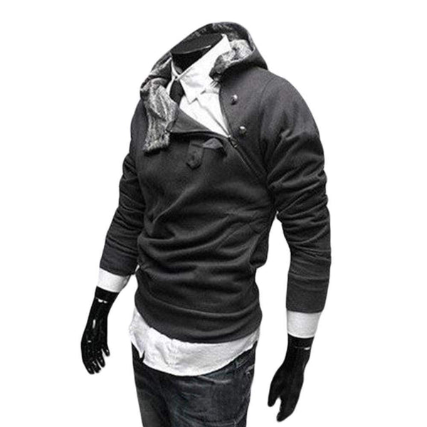 Free Shipping 2015 Spring NEW Hot High Collar Men's Jackets ,Men's Sweatshirt,Dust Coat ,Hoodies Clothes,cotton wholesale-mens-Across The Counter