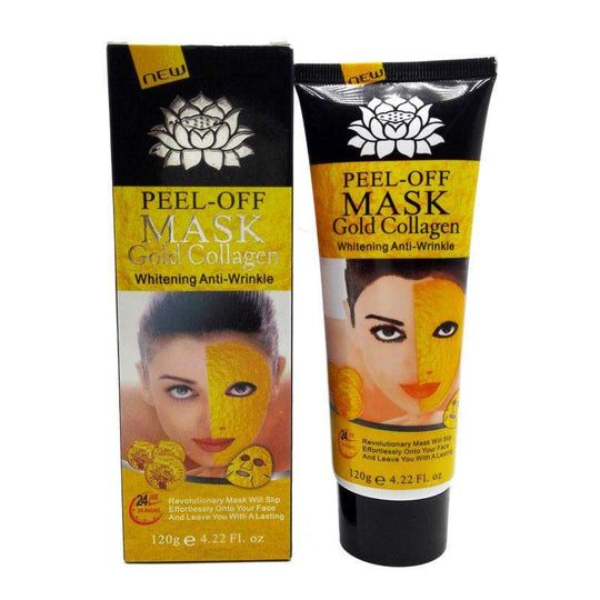 24K Gold Mask Collagen Facial mask Peel off Skin Whitening Anti wrinkle Anti Aging 120g-facial mask-Across The Counter