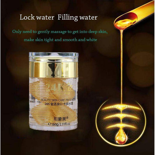 24 k gold hydrating essence cream anti wrinkle moisturizing anti-aging face cream 60g-anti-aging-Across The Counter