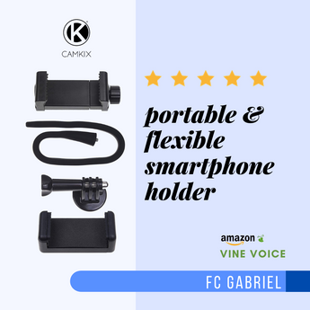 Product Review: Portable & Flexible Smartphone Holder