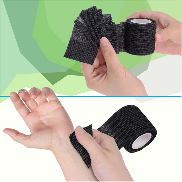 Ease muscle pain and stress with the Eco-Fused Self-adhering Bandage