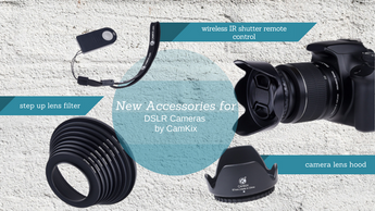 CamKix Releases New DSLR Camera Accessories
