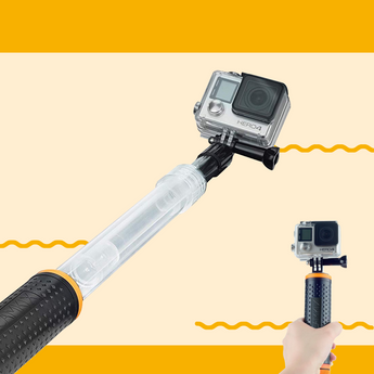 Float or Soak: The Waterproof Telescopic Pole is your GoPro's Best Companion