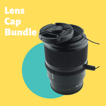 Take Care of Your Lens Using the CamKix Snap-on Lens Cap Bundle