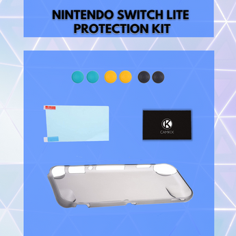 Introducing the Protection Kit for Nintendo Switch Lite