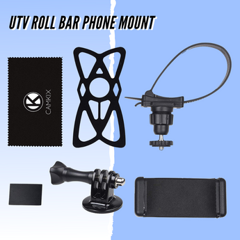 Introducing the CamKix UTV Roll Bar Phone Mount