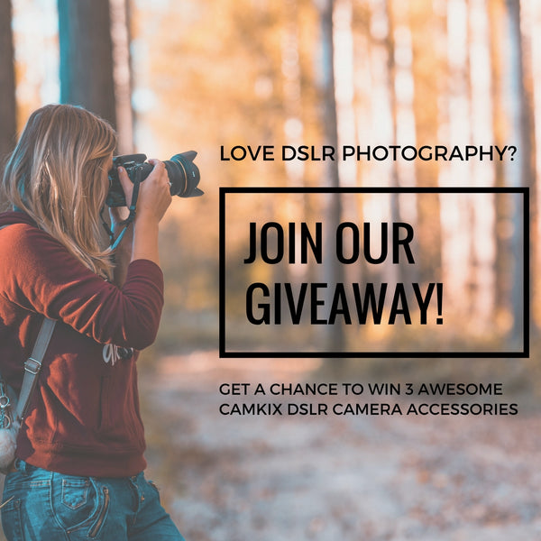 Win THREE Awesome Accessories for your DSLR Camera!