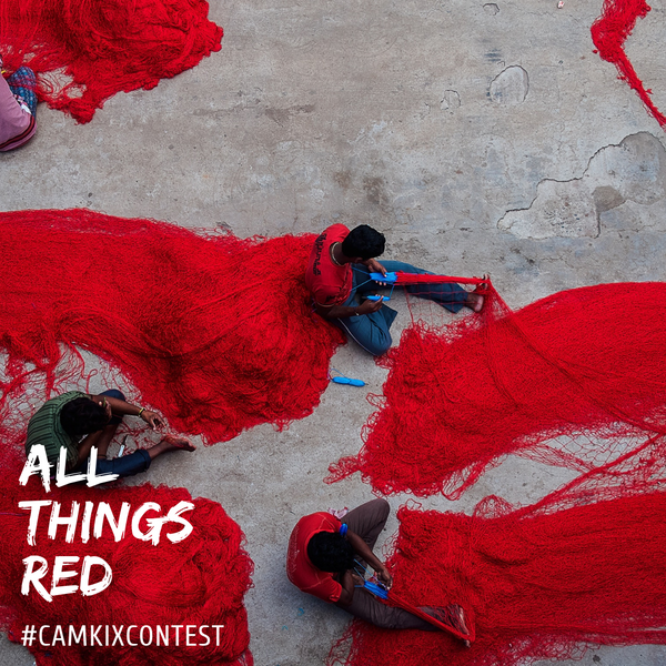 February CamKix Photo Contest: All Things Red