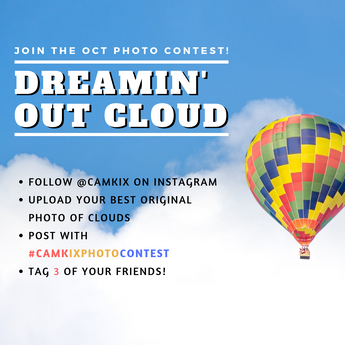 October Photo Contest: Dreamin' Out Cloud