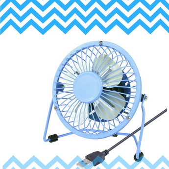 Get a shot at the Eco-Fused 2-pack of USB Desk Fans!