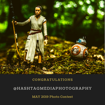 The Force was Strong with the Winner of the May Instagram Photo Contest