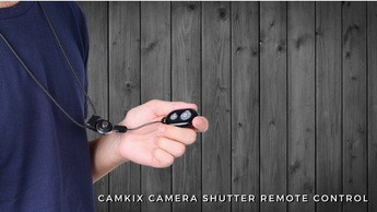 The CamKix Camera Shutter Remote Control Now Features a Detachable Neck Lanyard