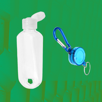 Portable Travel Bottles for Alcohol, Lotion and Sanitizers On-The-Go