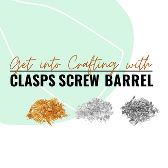 Get Crafty with the Eco-Fused Barrel Screw Clasp