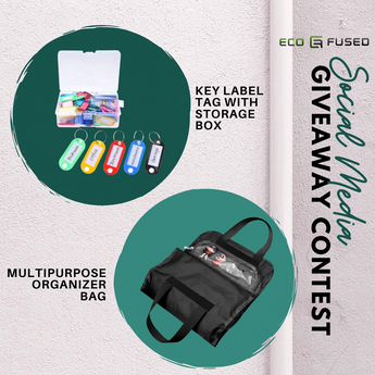 Eco-Fused is Giving Away A Few Items for your Organizing Solutions!