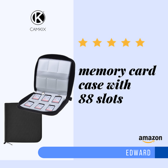 Product Review: Memory Card Case with 88 Slots