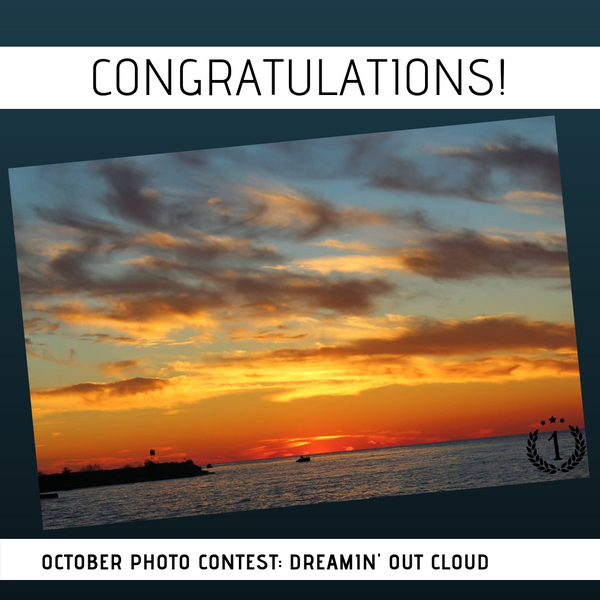 October Photo Contest Winner: We're Dreamin' Out Cloud!