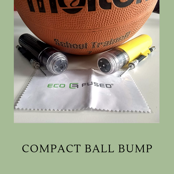 Eco-Fused Compact Ball Pump: Great Company for Sports Enthusiasts