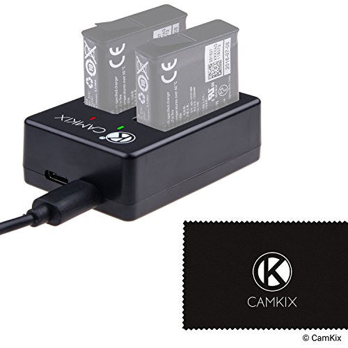 Dual Pro Charger for GoPro HERO 5 Batteries (AABAT-001)
