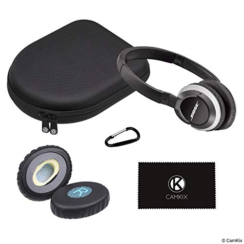Ear Pads Replacement and Protective Storage Case for Bose On-Ear Headphones - Models: OE, OE2, OE2i