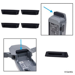 Battery and Charging Port Protectors for DJI Mavic Pro Drone - 5 Pack