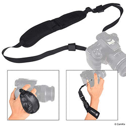 CamKix 3-in-1 Strap Kit for DSLR and Compact Cameras