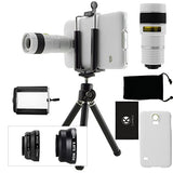 Lens Kit for Samsung Galaxy S5 - 4in1 - 8x Telephoto
