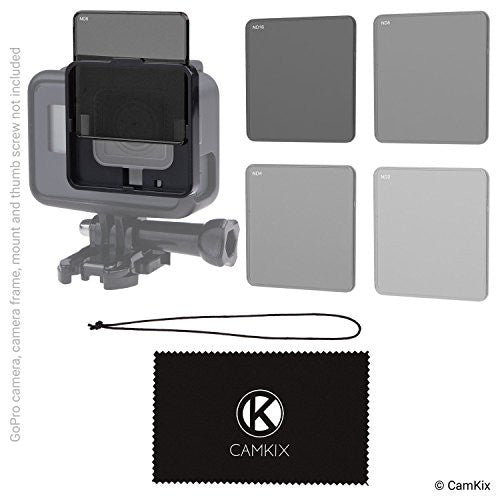 Cinematic ND Filter Pack for GoPro HERO 6 / 5 – CamKix