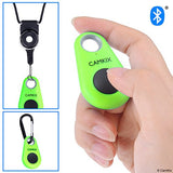 Smartphone Shutter Remote Control With Bluetooth (Green)