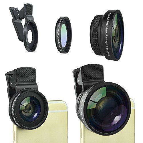 Universal 2in1 Lens Kit for Smartphone and Tablet