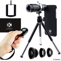 Lens + Shutter Remote Kit for iPhone 7 - 12x Telephoto