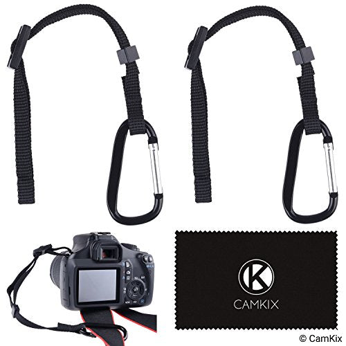 Camera Tether with Carabiner (Pack of 2)