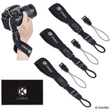Wrist Straps for DSLR and Compact Cameras - 3 Pack