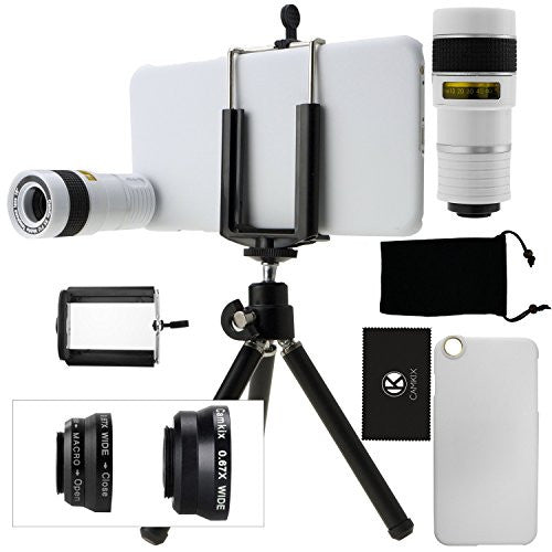 Lens Kit for iPhone 6 Plus / 6S Plus - 4in1 - 8x Telephoto