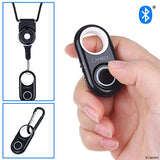 Compact Bluetooth Shutter Remote Control (Black & White)