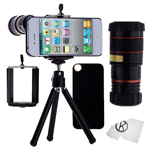 Lens Kit for iPhone 4/4S - 8x Telephoto