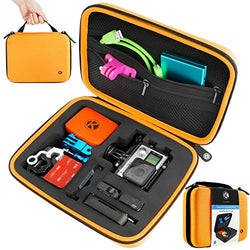 Case for Gopro Hero 4, 3+, 3, 2 - (M) Orange