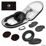 Ear Pads Replacement and Protective Storage Case for Bose QC35 II, QC35, QC25, QC15, QC2, AE2, AE2I, AE2W