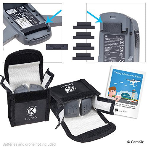 Travel Safety Pack for DJI Spark - For 4 Batteries