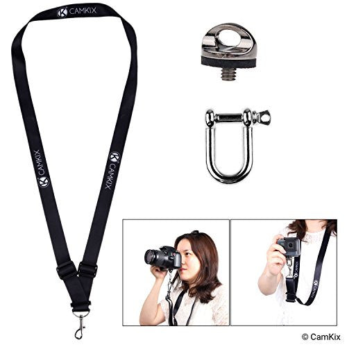 Neck/Shoulder Lanyard, Mount for GoPro, DSLR or Camera