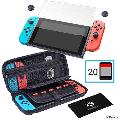 Storage and Protection Kit for Nintendo Switch