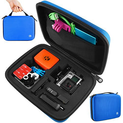 Case for Gopro Hero 4, 3+, 3, 2 - (M) Blue
