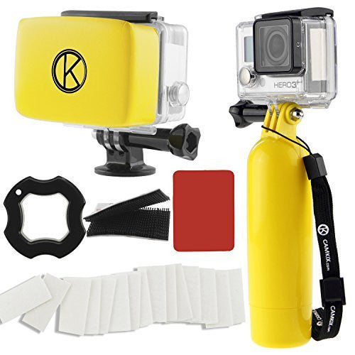 Water Accessory Bundle for Gopro Hero 4, 3+, 3, 2, 1