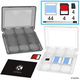 Game Case for Nintendo 3DS - Fits up to 44 Games