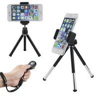 Universal Adjustable Tripod and Bluetooth Remote for Smartphone