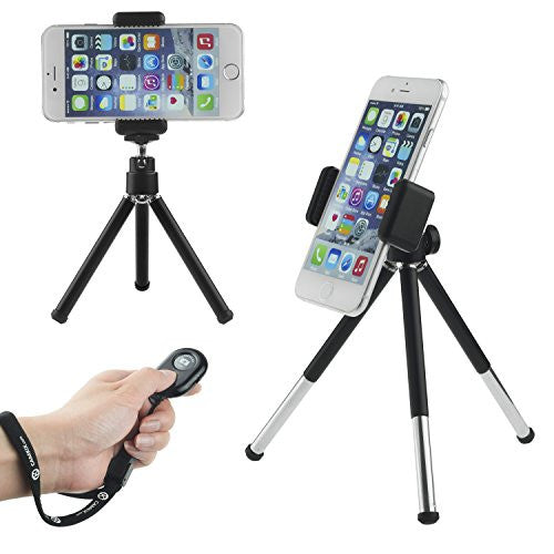 Charming Universal Adjustable Tripod And Bluetooth Remote For Smartphone