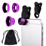 Universal 3in1 Lens Kit for Smartphone and Tablet