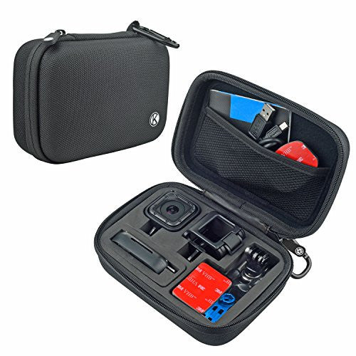 Digital Gear Bags Mini Carry Case Protective Eva Bag For Gopro Hero 5 Storage Box For Gopro Hero 4 Session Sport Camera Accessories With Carabiner